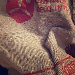 Other - COPY - Genuine imported Coffee Sacks. Heavy Burlap